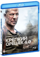 Blu-Ray Крепкий орешек 4.0 (Blu-Ray) / Live Free or Die Hard