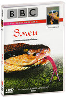 BBC: Плотоядные. Змеи (DVD) / Serpent
