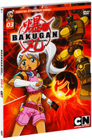 Бакуган. Выпуск 3 (DVD) / Bakugan