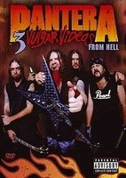 DVD Pantera: 3 Vulgar Videos From Hell (2 DVD)