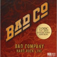 DVD + Audio CD Bad Company: Hard Rock Live (DVD + CD)