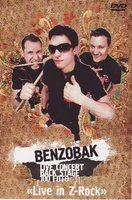 DVD Benzobak: Live in Z-Rock