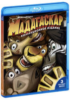Мадагаскар / Мадагаскар 2 / Мадагаскар 3 (3 Blu-Ray) / Madagascar: Escape 2 Africa / Madagascar 3: Europe's Most Wanted