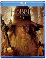 Blu-Ray Хоббит: Нежданное путешествие (2D+3D+3D открытка) (2 Real 3D Blu-Ray + 2 Blu-Ray) / The Hobbit: An Unexpected Journey