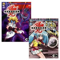 DVD Бандл Лучшие выпуски Бакуган №3 (2 DVD) / Bakugan Battle Brawlers / Bakugan Battle Brawlers