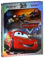 Тачки (Real 3D + 2D) (2 Blu-Ray) / Cars