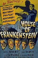 DVD Дом Франкенштейна / House of frankenstein