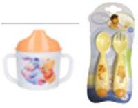 Disney. Набор посуды: кружка-поильник + ложка