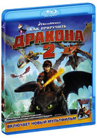 Blu-Ray Как приручить дракона 2 (Blu-Ray) / How to Train Your Dragon 2