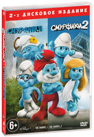 Смурфики / Смурфики 2 (2 DVD) / The Smurfs