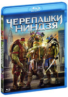 Черепашки-ниндзя (Blu-Ray) / Teenage Mutant Ninja Turtles