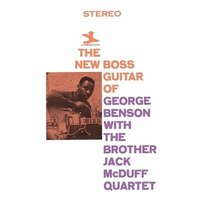 LP George Benson: New Boss Guitar Of George Benson With The Brother Jack McDuff Quartet (LP)