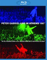 DVD + Blu-Ray Peter Gabriel: Live In Athens 1987 (Blu-Ray+DVD) / Live In Athens 1987 / Play The Videos