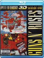 Blu-Ray Guns N' Roses: Appetite For Democracy 3D: Live at the Hard Rock Casino Las Vegas (Real 3D Blu-Ray)