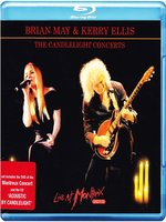Blu-Ray + Audio CD Brian May & Kerry Ellis: The Candlelight Concerts. Live At Montreux 2013 (Blu-Ray)