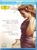 Blu-Ray Brahms: The Violin Sonatas - Anne-Sophie Mutter, Lambert Orkis (Blu-Ray)