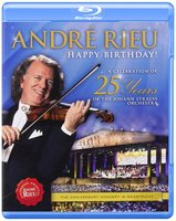 Blu-Ray Andre Rieu: A Celebration Of 25 Years Of The Johann Strauss Orchestra (Blu-Ray)