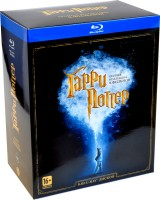 Blu-Ray Гарри Поттер. Коллекция. (8 Blu-Ray) / Harry Potter and the Philosopher's Stone / Harry Potter and the Chamber of Secrets / Harry Potter and the Prisoner of Azkaban / Harry Potter and the Goblet of Fire / Harry Potter and the Order of the Phoenix / Harry Potter and the Half-Blood Prince