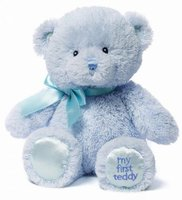 Игрушка мягкая: Медведь My First Teddy Small Blue 22,5 см (4043950)