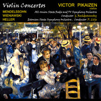 Audio CD Виктор Пикайзен: Концерты для скрипки / Victor Pikaizen. Mendelssohn, Wieniawski, Heller. Violin Concertos