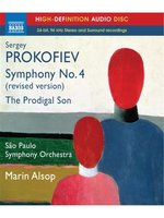 Blu-Ray Prokofiev. Symphony No. 4 (Revised 1947 version) / The Prodigal Son - Marin Alsop (Blu-Ray Audio)