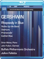 Gershwin: Rhapsody in Blue / Strike Up the Band Overture / Promenade (Weiss, Fullam, Buffalo Philharmonic, Falletta) (Blu-Ray Audio) (Blu-Ray)