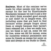 Soulwax. Most Of The Remixes (2 CD)