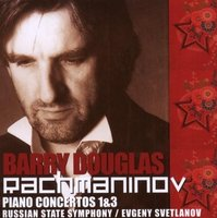 Audio CD Douglas Barry.Rachmaninov: Piano Concertos 1 and 3.