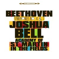 Audio CD Beethoven. Symphonies 4 and 7: The Academy Of St Martin In The Fields, Joshua Bell