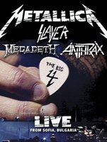DVD + Audio CD Metallica/Slayer/Megadeth/Anthrax. The Big 4: Live from Sofia, Bulgaria (2 DVD + 5CD)
