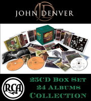 Audio CD John Denver. The RCA Albums Collection