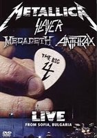 DVD Metallica, Slayer, Megadeth, Anthrax. The Big 4