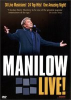 DVD + Audio CD Barry Manilow. Live!