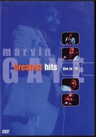 DVD Marvin Gaye. Greatest Hits Live In '76