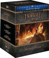 Хоббит: Трилогия (режиссерская версия) (6 Real 3D Blu-Ray + 9 Blu-Ray) / The Hobbit: An Unexpected Journey / The Hobbit: The Desolation of Smaug / The Hobbit: The Battle of the Five Armies