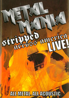 DVD Various. Metal Mania Live / Various Artists - VH-1 Classic. Metal Mania Stripped Across America