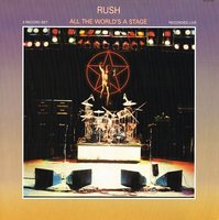 LP Rush. All The World's A Stage (LP)