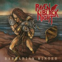Raven black night. Barbarian winter (CD)