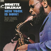 LP Ornette Coleman. New York Is Now! (LP)