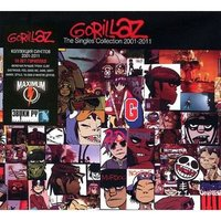 Audio CD Gorillaz. The Singles Collection 2001-2011