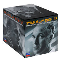 Audio CD Sviatoslav Richter. Complete Decca, Philips & DG Recordings (limited edition)
