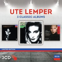Audio CD Ute Lemper. Three Classic Albums