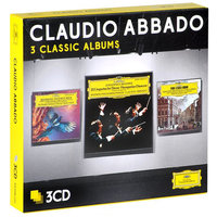 Audio CD Claudio Abbado. Three classic albums