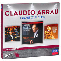 Audio CD Claudio Arrau. 3 classic albums