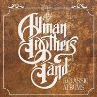 Audio CD The Allman Brothers Band. 5 Classic Albums