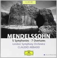 Audio CD Abbado Claudio. Mendelssohn
