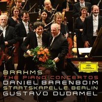 Audio CD Barenboim Daniel. Brahms The Piano Concertos