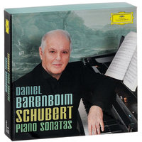 Audio CD Daniel Barenboim. Schubert. Piano sonatas