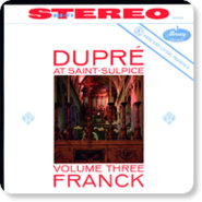 Audio CD Dupre Marcel. At Saint-Sulpice, Vol.3