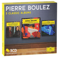 Audio CD Pierre Boulez. 3 classic albums